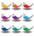 Hammocks Rainbow vector image
