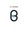 Creative B - letter icon vector image