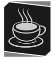 coffee symbol vector image