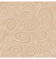 Seamless background with spirals pattern vector image