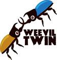 Weevil Twin vector image