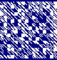 abstract texture diagonal navy blue and white vector image