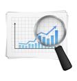 Bar Graph vector image vector image