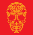 Skull Ornamental vector image