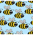 amusing bees vector image