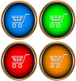 Set from four icons a buy vector image vector image