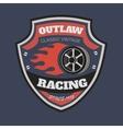 Sport racing typography t-shirt graphics vector image