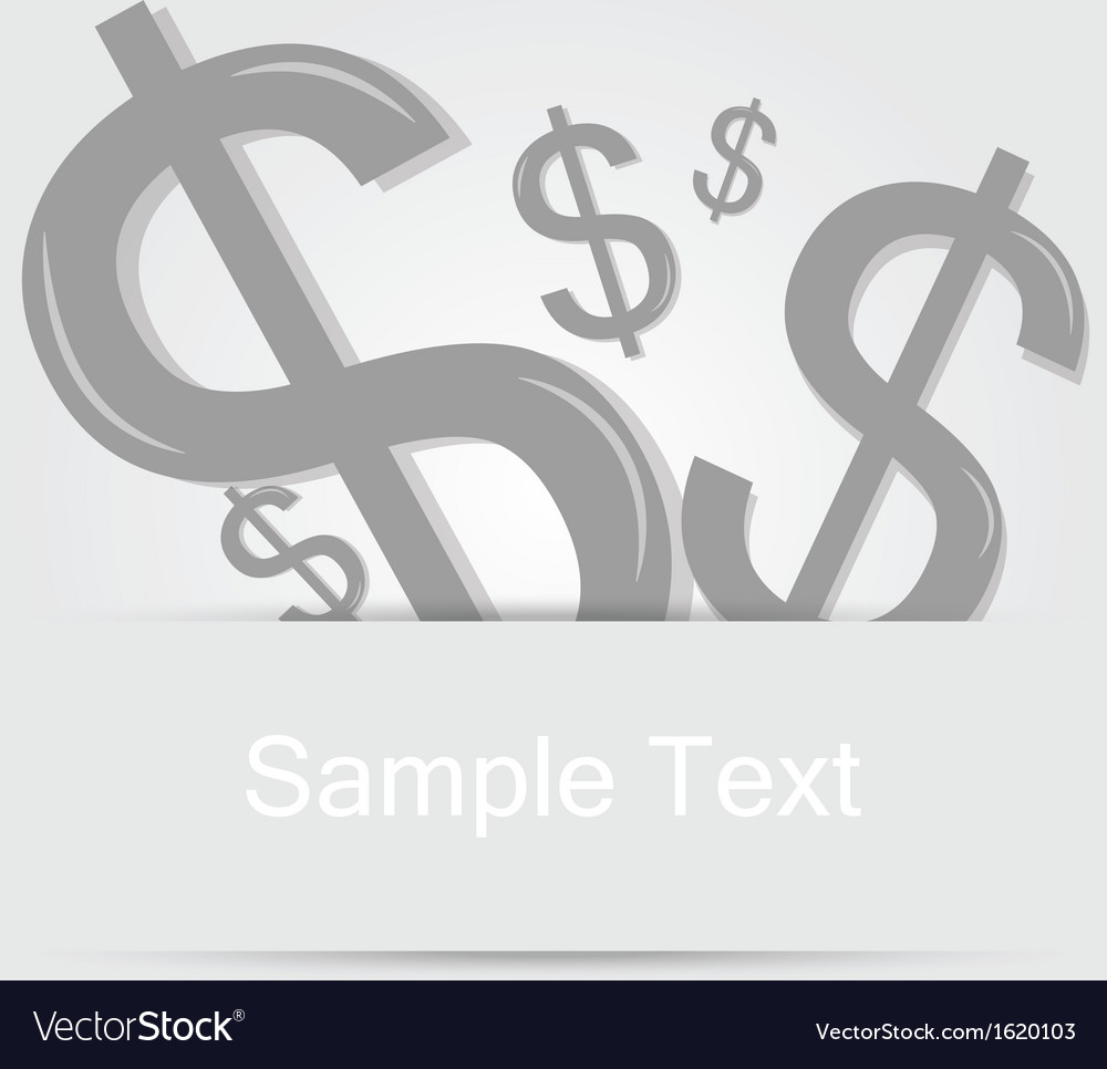 Money background concept 1 vector