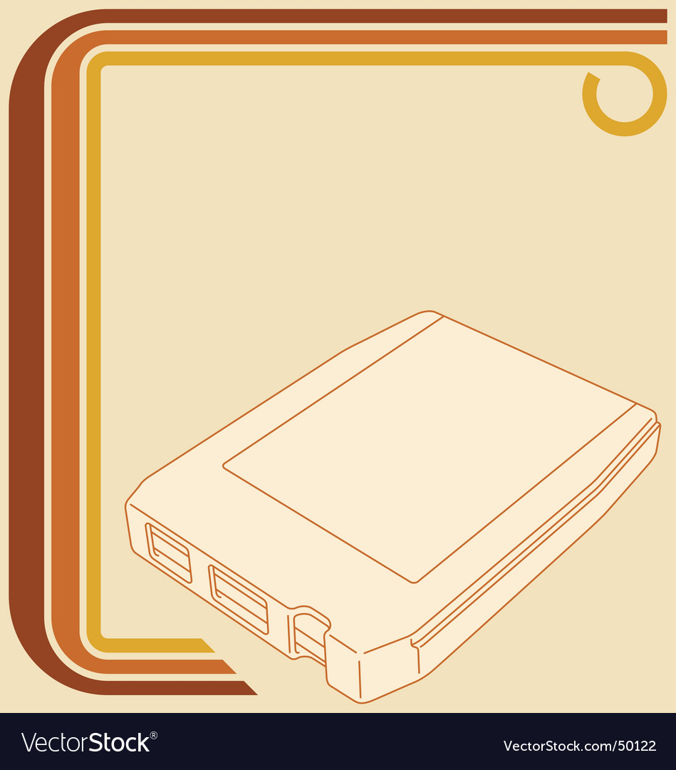 8track tape vector