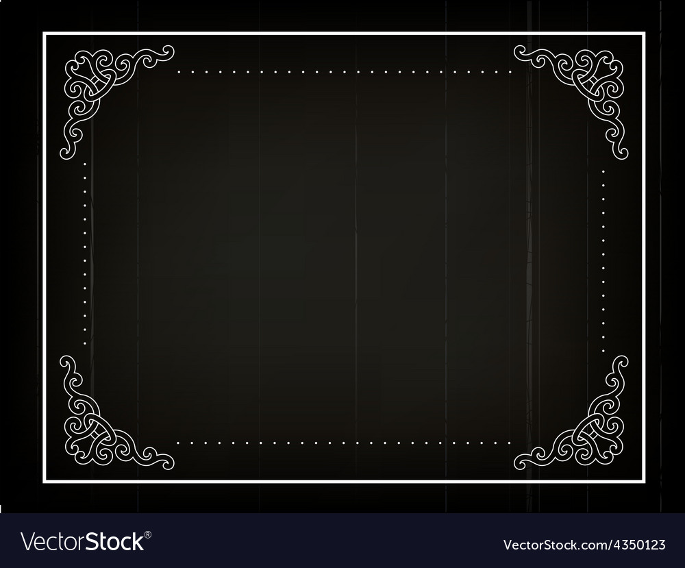 Old movie background vector