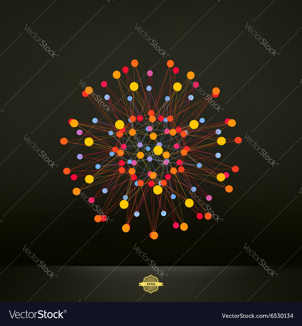 Abstract 3d design element emblem vector