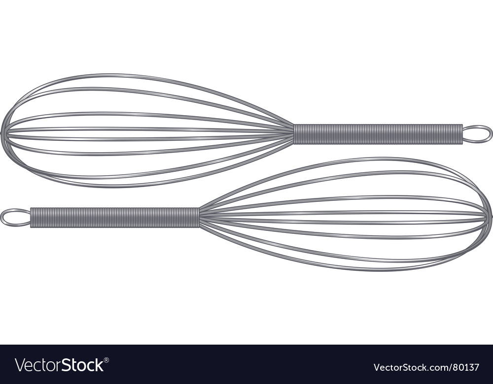 Whisks vector