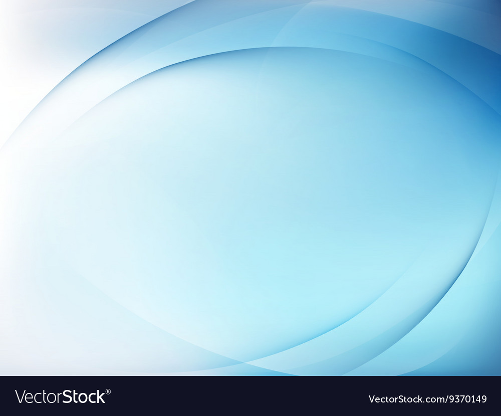 Abstract blue background with smooth lines eps 10 vector