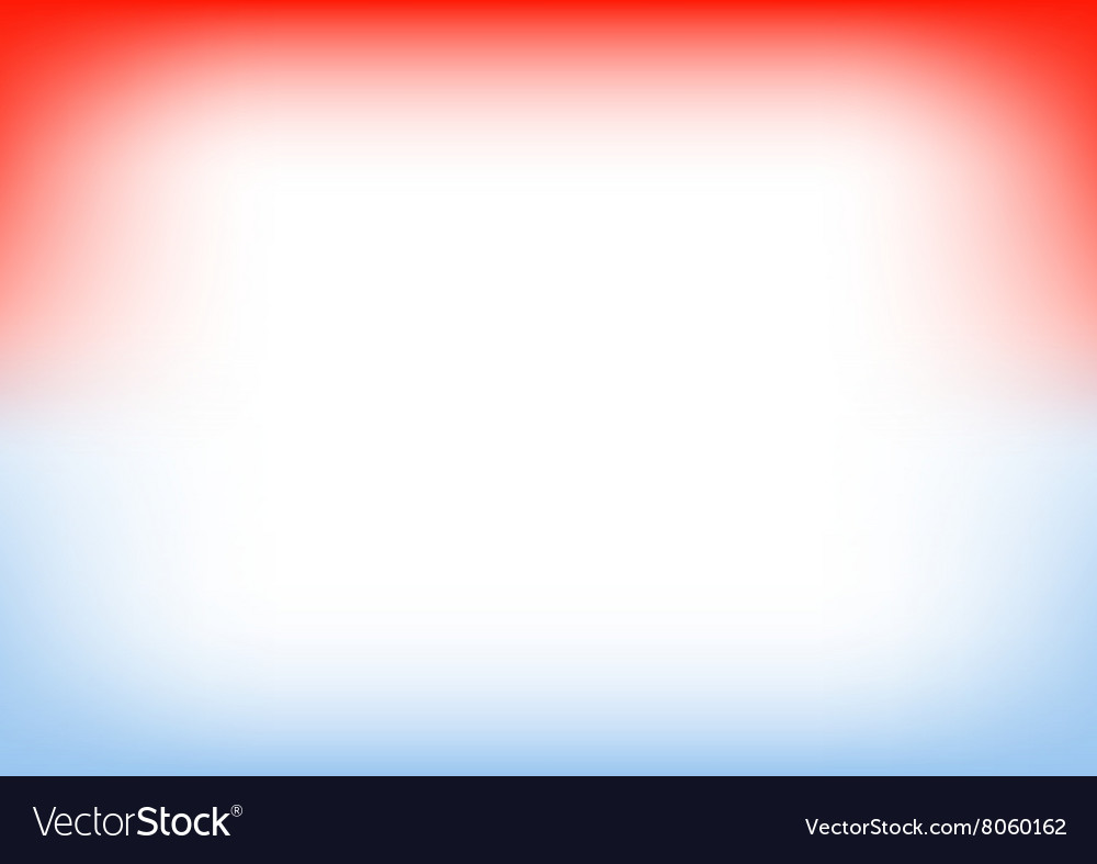 Blue serenity red copyspace background vector
