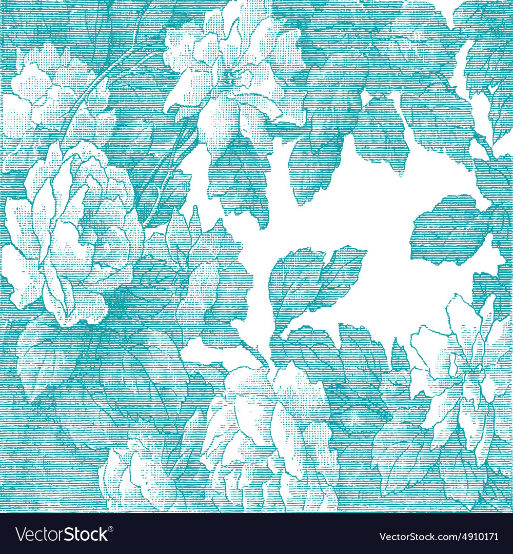 29 abstract handdrawn floral pattern rose vector