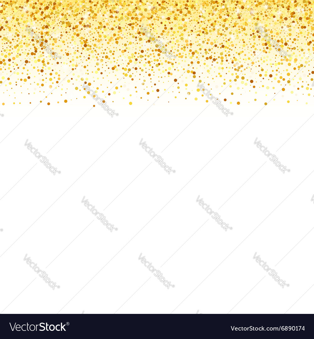Abstract gold dust glitter star wave vector