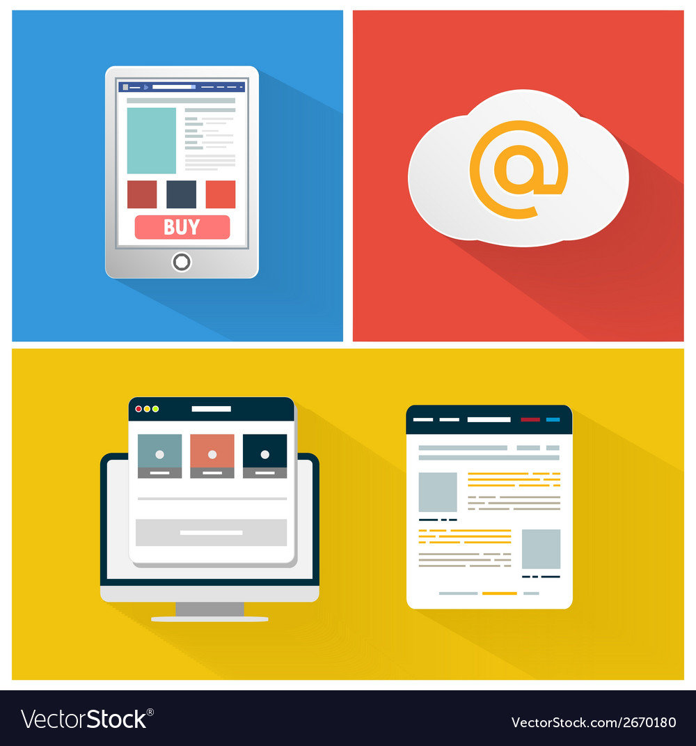 Modern app icon of browser business concept vector