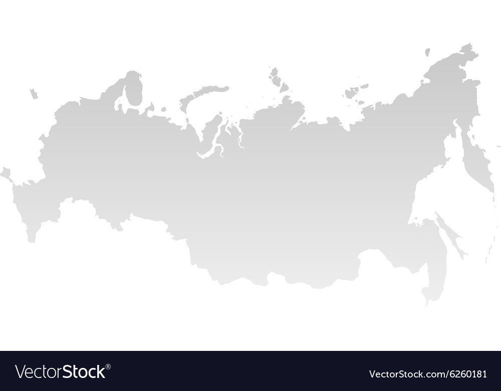 New map of the russian federation and crimea vector