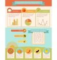 Vegetables Infographic Set vector image