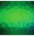 Green Polygonal Background vector image vector image