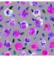 Seamless pattern with beautiful hand paint vector image