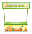 A stall for refreshing drinks vector image