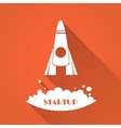 Startup idea logo vector image