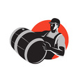 Wine Marker Icon vector image vector image