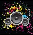 grunge sound vector image
