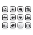 socialism and revolution icons vector image