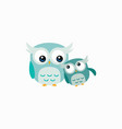 cute owl design vector image