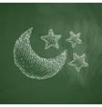 full moon icon vector image