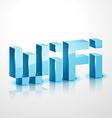 wifi icon design vector image
