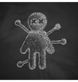 voodoo Doll icon vector image