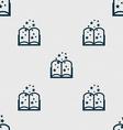 Magic Book sign icon Open book symbol Seamless vector image