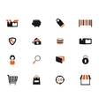 E-commerce simply icons vector image