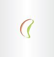 grain bean icon design vector image