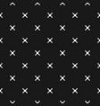 Minimalist texture geometric seamless pattern vector image