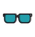 eye glasses isolated icon vector image