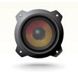 modern speaker vector image