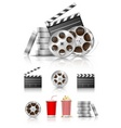 film and movies vector image vector image