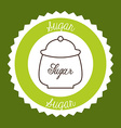delicious tea vector image