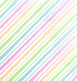 watercolor stripes background vector image