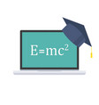 online education concept online learning vector image
