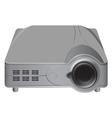 projector grey color vector image