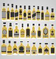 Whisky store vector image vector image