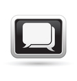 Speech bubbles icon vector image vector image