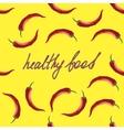 Modern healthy food vector image