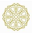 Islamic or arabic shape vector image