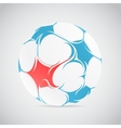 Creative football vector image vector image